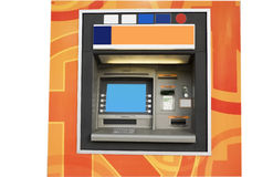 Verkoop machine-ATM Royalty-vrije Stock Foto