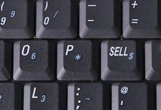 Verkoop sleutel. Stock Afbeelding