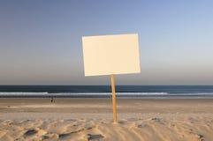 Verkoop strand Stock Foto