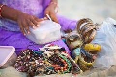 Verkoop van jewelery stock foto's