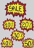 Verkoopaanbieding Stock Afbeelding