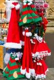 Verkoopcabine tijdens het Kerstmisseizoen stock foto's