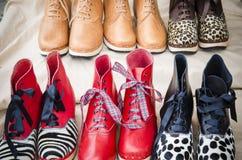 Verkooppunt van een schoenmaker Royalty-vrije Stock Afbeeldingen