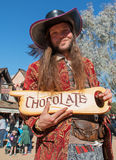 Verkoper bij het de Renaissancefestival van Arizona Royalty-vrije Stock Fotografie