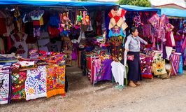 Verkoper en artisanaal stock foto's