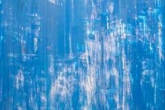 Verkratzte blaue metallische Beschaffenheit Lizenzfreies Stockbild