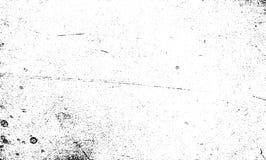 Verkratzter Beschaffenheitsvektor des Schmutzes Korn Schwarzweiss stock abbildung