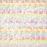 Verkratzter Pastellhintergrund mit Süßigkeitsmuster lizenzfreie abbildung