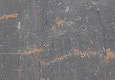 Verkratztes altes Blatt des Rosts der Hintergrundbeschaffenheit Metall Lizenzfreies Stockbild