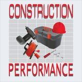 Verktyg Konstruktion och kapacitet royaltyfri illustrationer