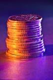 Verkupfern Sie Geld Lizenzfreies Stockfoto