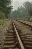 Verlaat spoorweg Stock Fotografie
