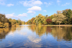 Verlamium park fotografia stock