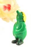 Verlangsamen Sie und riechen Sie die Blume Lizenzfreies Stockbild