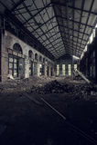 Verlassen setzen Sie vereinigte Fabrik - Youngstown, Ohio ab lizenzfreies stockbild