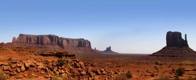 Verlassen Sie Landschaft im Arizona stockfotos