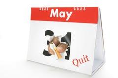 Verlassen Sie 13. Mai Rauch Lizenzfreies Stockfoto