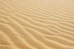 Verlassen Sie Sand Stockfotografie