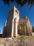 Verlassen von der Kirche von Santa Eulalia Stockbild