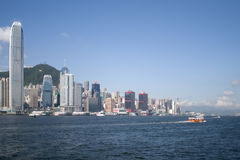 Verlassen von Hong Kong Lizenzfreies Stockfoto