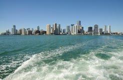 Verlassen von Miami stockfotografie