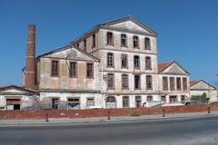 Verlassene alte Fabrik Lizenzfreie Stockbilder