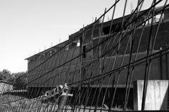 Verlassene Baustelle Stockfotografie