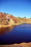 Verlassene Bergbauerforschung bei Portugal. Stockfoto