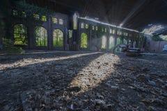 Verlassene Bergwerkgebäude in Belgien Lizenzfreie Stockbilder