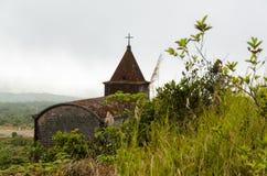 Verlassene christliche Kirche Stockfotografie