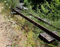 Verlassene Eisenbahn Stockbilder