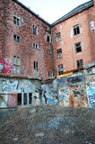Verlassene Fabrik Lizenzfreie Stockfotos