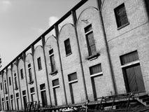 Verlassene Fabrik Stockbild