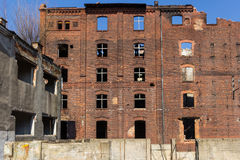 Verlassene Fabrik Stockbilder