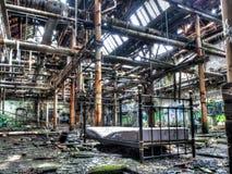 Verlassene Fabrik Lizenzfreies Stockbild