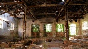 Verlassene Fabrik - Mühle lizenzfreie stockfotografie