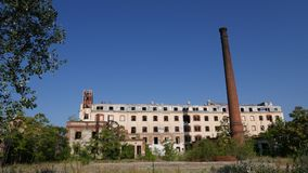 Verlassene Fabrik - Mühle stockfotos