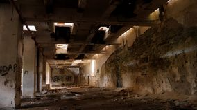 Verlassene Fabrik - Mühle lizenzfreies stockfoto