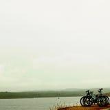 Verlassene Fahrräder Stockfotografie