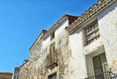 Verlassene Häuser Stockfoto