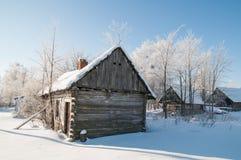Verlassene Hütte Stockfoto