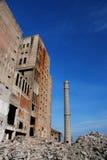 Verlassene Industriegebäude Stockfotografie