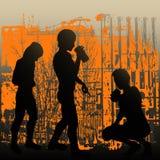 Verlassene Jugend Lizenzfreies Stockbild