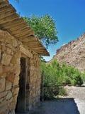 Verlassene Kabine nahe Green River, Utah Stockbilder