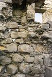Verlassene Kate von Wester Crannich auf Dava Moor in Schottland stockfotos