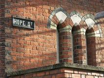 Verlassene Kirche in Belfast Stockbilder