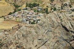 Verlassene Landschaft im Kurdistan, die Osttürkei Stockfotografie