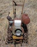Verlassene landwirtschaftliche Maschine stockbild