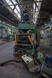 Verlassene LKW-Fabrik Lizenzfreie Stockbilder