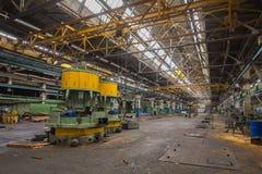 Verlassene LKW-Fabrik Lizenzfreie Stockfotografie